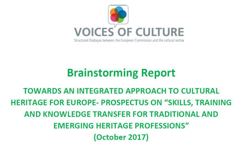 Brainstorming Report